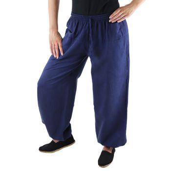 KUNST UND MAGIE Unisex colorful one size boho yoga bloomers summer pants harem pants – Bild 15