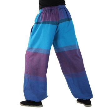 KUNST UND MAGIE Unisex colorful one size boho yoga bloomers summer pants harem pants – Bild 24