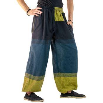 KUNST UND MAGIE Unisex colorful one size boho yoga bloomers summer pants harem pants – Bild 7
