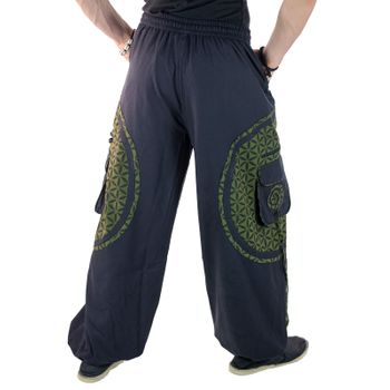 Men's - Harem Pants with Stylish Pattern Hippie Goa – Bild 7