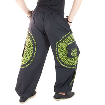 Men's - Harem Pants with Stylish Pattern Hippie Goa – Bild 16