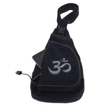 Kunst und Magie Hippie Goa Bodybag Schultertasche OM – Bild 15