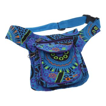 Goa Shoulder / Fanny Pack Belt Pouch Belly Belt Hippie Psy – Bild 13