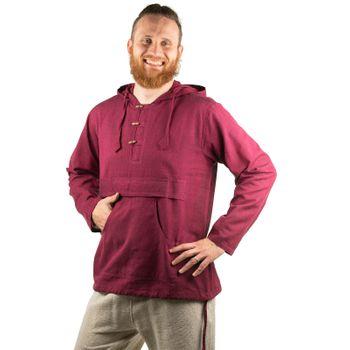 KUNST UND MAGIE Herren bunt alternativ Hoodie Fischerhemd Kapuze Kängurutasche – Bild 18