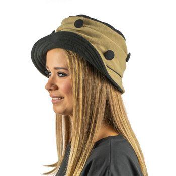 Kunst und Magie Mütze Hut aus Fleece Boho – Bild 2