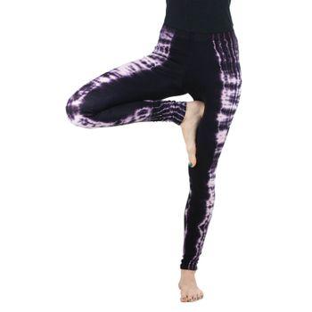 Kunst und Magie Damen Leggings Atmungsaktive Tie Dye Batik Yoga Legging / Yogahose – Bild 21