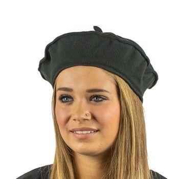 Kunst und Magie Mütze Barett Baskenmütze aus Fleece Boho – Bild 2