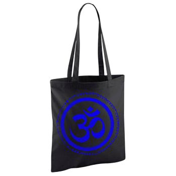 OM gym bag Kunst und Magie printed cotton bag 12L Gymbag with cords – Bild 19