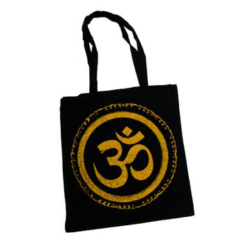 OM gym bag Kunst und Magie printed cotton bag 12L Gymbag with cords – Bild 15
