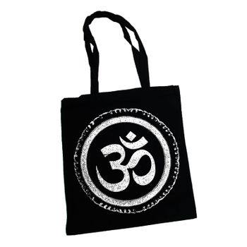 OM gym bag Kunst und Magie printed cotton bag 12L Gymbag with cords – Bild 7