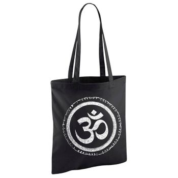 OM gym bag Kunst und Magie printed cotton bag 12L Gymbag with cords – Bild 1