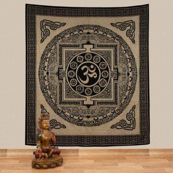 Kunst und Magie Wall Hanging The Mandala Buddha  79 x 53 inches – Bild 1