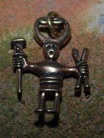 Odin Wikinger Bronze Anhänger 001