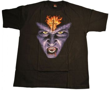 Gothic T-Shirt Vampir – Bild 1