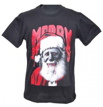 Vampire Santa Nikolaus Parodie Weihnachts Fun T-Shirt