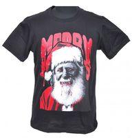 Vampire Santa Claus Parody Christmas Fun T-Shirt 001