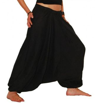 Aladdin Pants Afghani Pants Shalwar – Bild 2