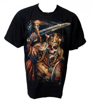 "Nordic Fantasy T-Shirt ""Ghost Warrior"" – Bild 1"