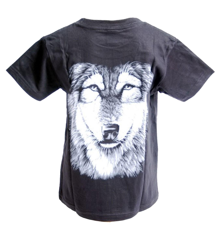 kids t shirt wolf wolf 39 s head animal kids. Black Bedroom Furniture Sets. Home Design Ideas