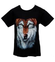"Kids T-Shirt Wolf ""Wolf's Head"" Animal Kids 001"