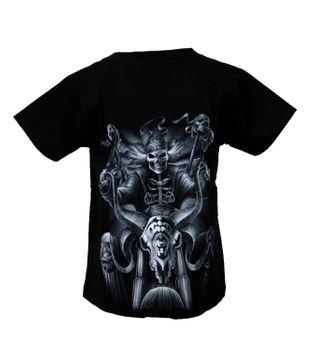 """Kinder Biker T-Shirt """" Skull Biker"""" Skelett Easy Rider Kids – Bild 2"""