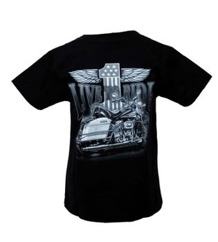 "Kinder Biker T-Shirt ""Live to Ride"" Easy Rider Kids – Bild 2"