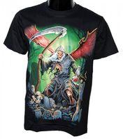 "Biker & Gothic Fashion - Death Rock T-Shirt ""Grim Reaper"" 001"