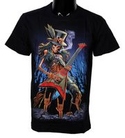 "Gothic T-Shirt ""Rock´n Roll Death"" Sensenmann Metal 001"