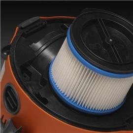 Halbautomatische Filterreinigung