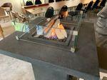 Feuertisch Montreal Bistro Tisch 91 x 91 x H112cm