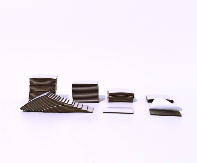 Magnet - Takki selbstklebend 15mm x 15mm x 0,9mm