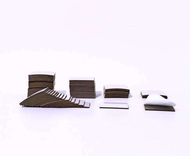 Magnet - Takki selbstklebend 20mm x 20mm x 0,9mm