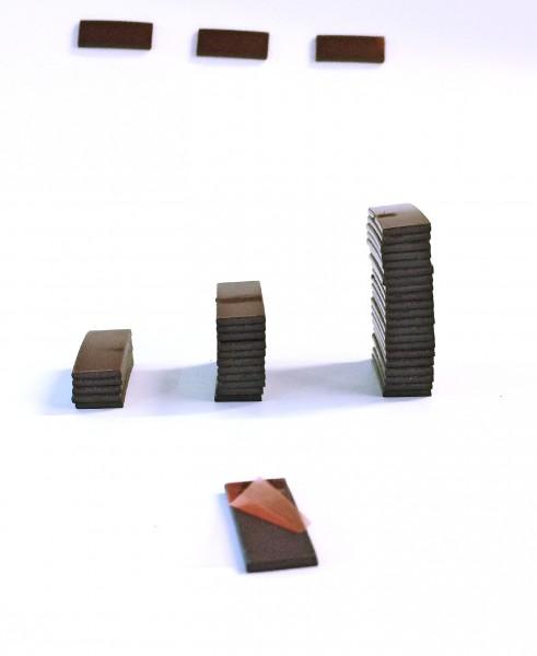 Magnet Takki selbstklebend 11mm x 25mm x 1,5mm