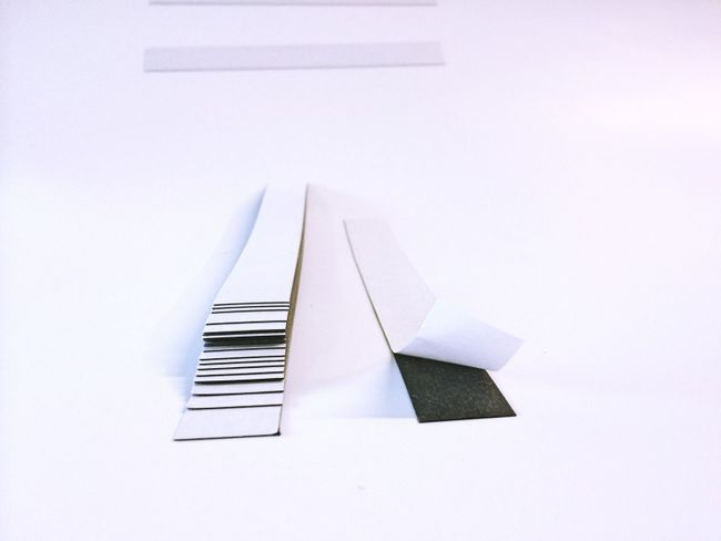 Magnetstreifen selbstklebend 20mm x 200mm x 0,5mm