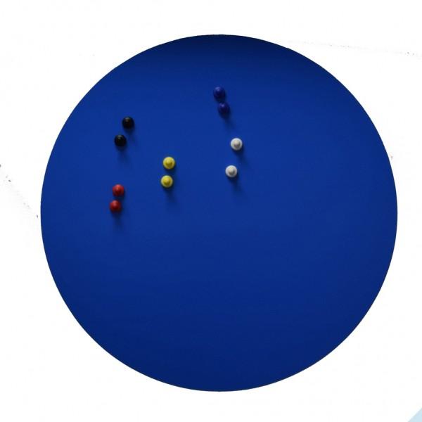 Eisenfolie Ferrofolie selbstklebend Blau Matt Ø 570mm x 0,8mm