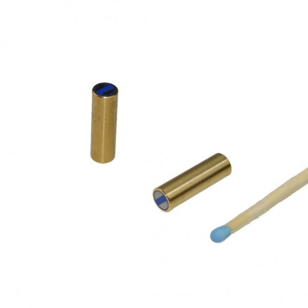 NdFeB-Stabgreifer Ø 6 x 20 mm, Messing, Passung h6 - 1 kg