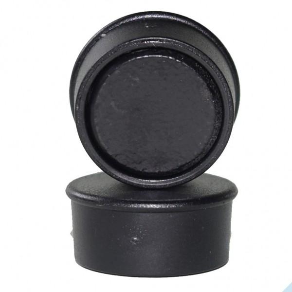 Memomagnet Ø 16 x 7 mm FERRIT - Schwarz - hält 300 g
