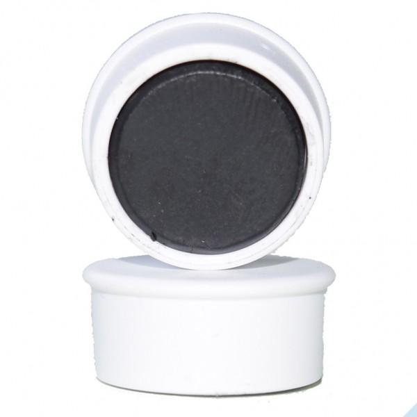 Memomagnet Ø 16 x 7 mm FERRIT - Weiß - hält 300 g