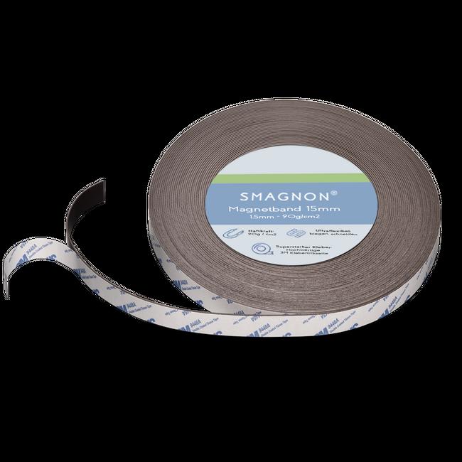 Magnetband mit 3M Kleber Kleberücken selbstklebend Typ B 15mm breite
