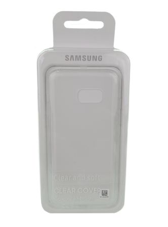 Samsung Cover für Galaxy A3 (2017) transparent Handyhülle Cover Originalverpackt