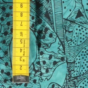 Guineafowl Spruce Green C - Amafu – Bild 2