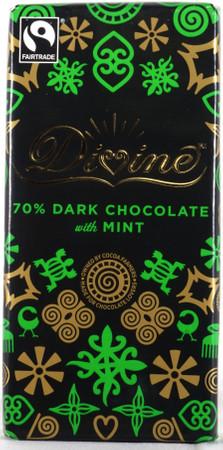 Dunkle Schokolade - Minze - 70%