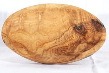 Seifenschale groß - Olivenholz - 16-17cm – Bild 3