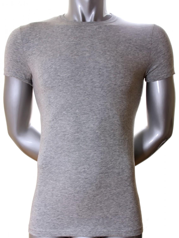 2 er Pack Dsquared2 T - Shirt Rundhals grau meliert S M L XL XXL High  Fashion Label