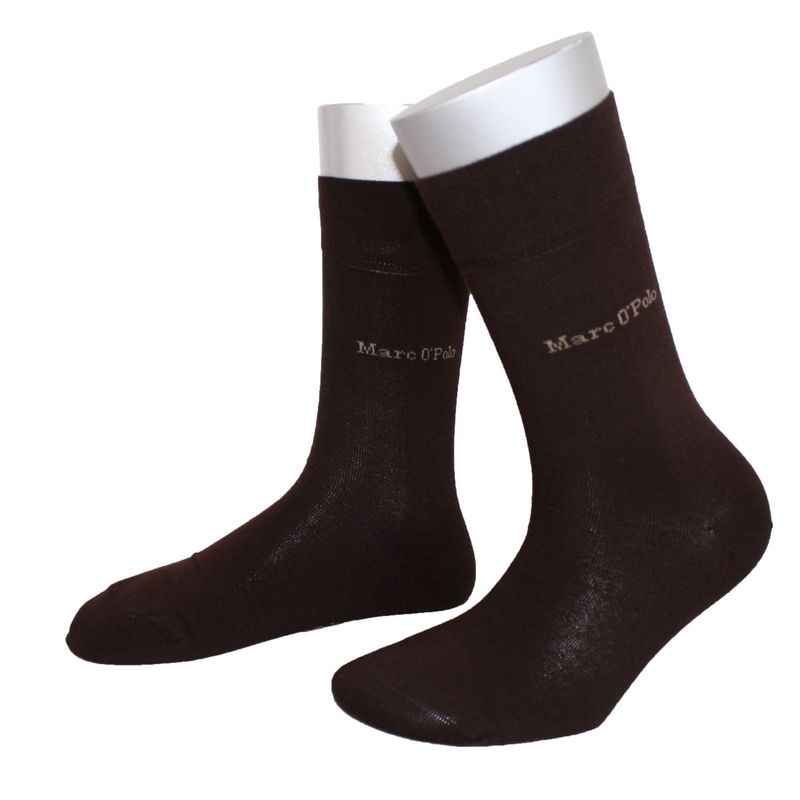 2 Paar Marc o`Polo Socken Strümpfe Damen braun marone TOP Fashion Socks NEU