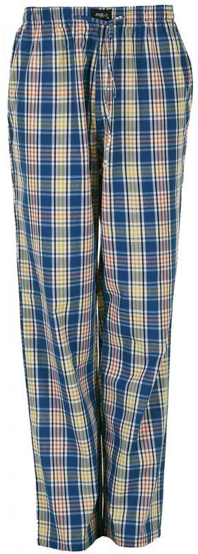 MG-1 gewebte Pyjamahose - Schlafanzug - Hose, Homewear blau gelb weiß NEU WOW