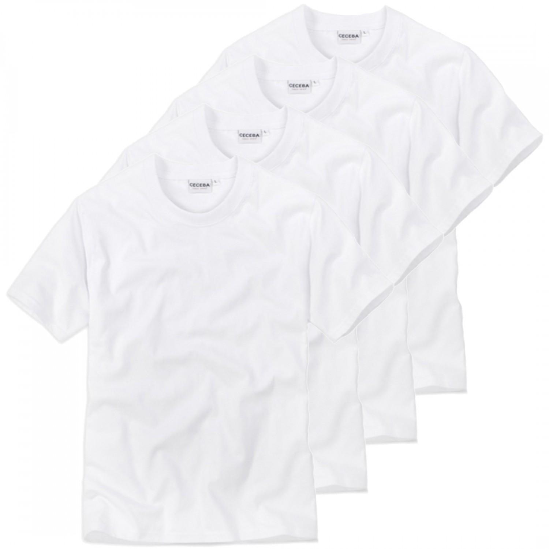 4 er pack ceceba herren rundhals t shirt american shirt. Black Bedroom Furniture Sets. Home Design Ideas