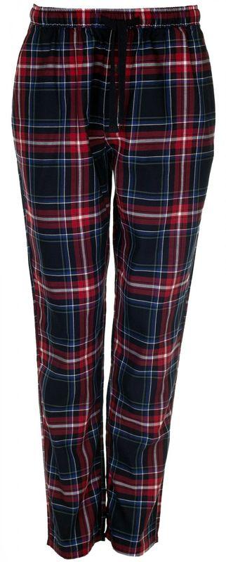 Marc o`Polo gewebte Herren Pyjamahose Schlafanzug Hose Homewear marine rot weiss