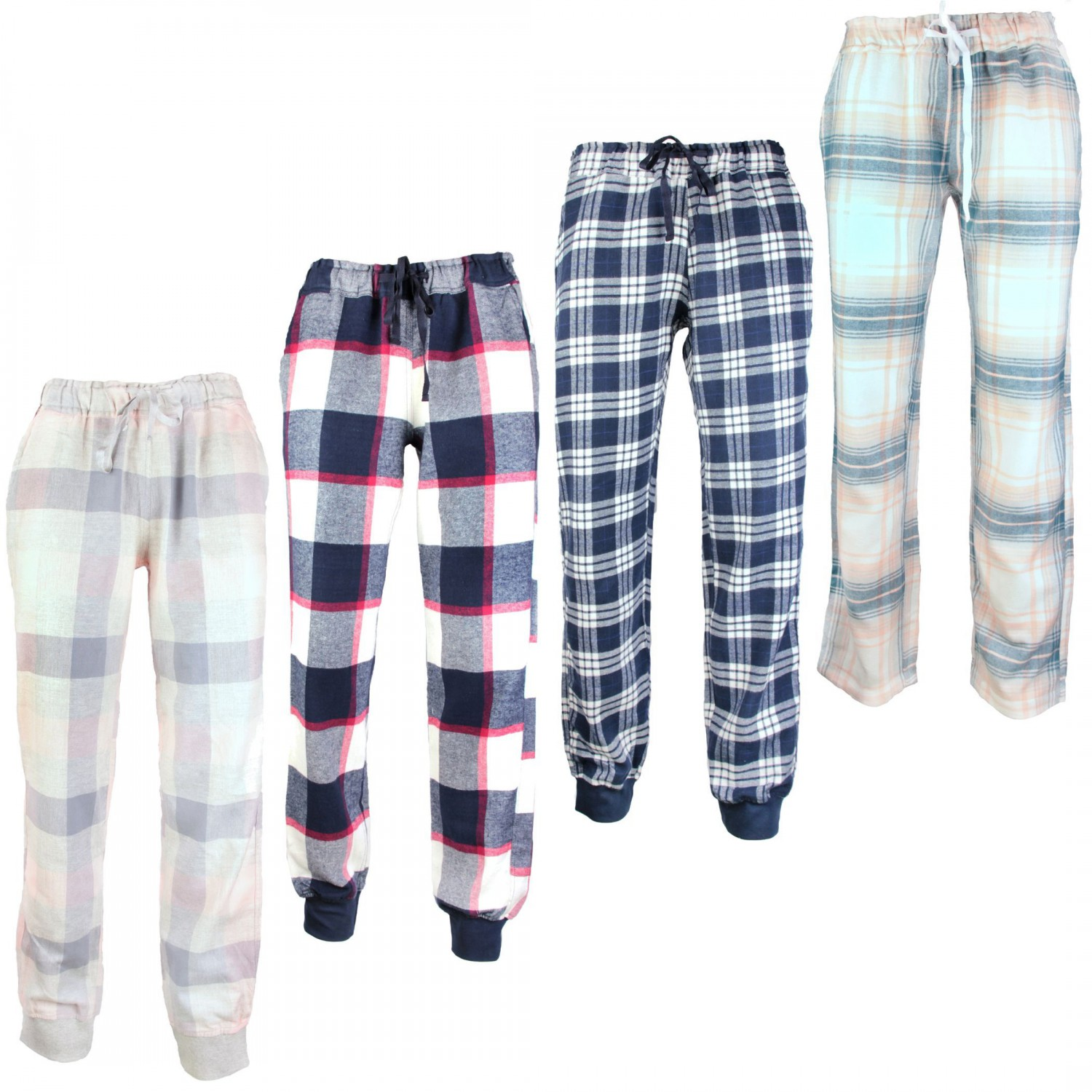 by louise von mg 1 damen flanell pyjamahose loungewear sleepwear farbwahl. Black Bedroom Furniture Sets. Home Design Ideas