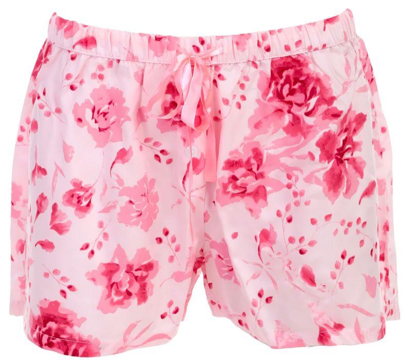 By Louise von MG-1 Damen Webboxer Panty Shorty Hipster Schlafhose rosa modisch